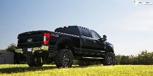 Ford F-250 Super Duty with Fuel 1-Piece Wheels Titan - D588