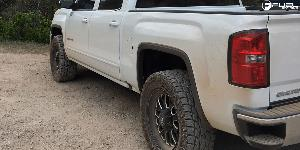 GMC Sierra 1500 with Fuel 1-Piece Wheels Titan - D588