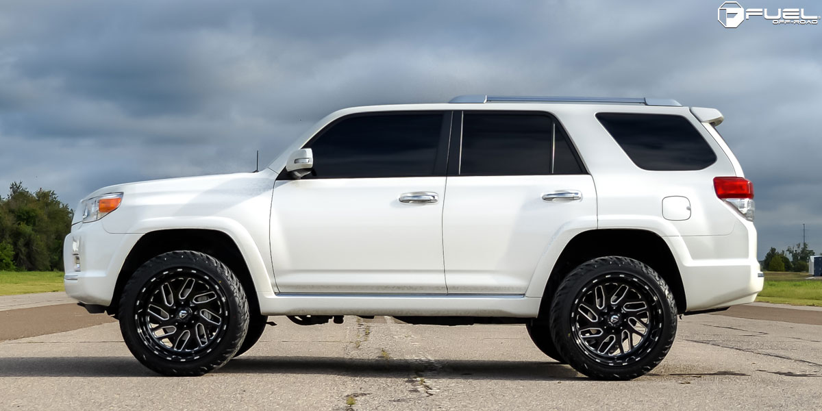 Toyota 4runner Triton D581 Gallery Fuel Off Road Wheels