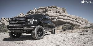 Ford F-150 with Fuel 1-Piece Wheels Triton - D581