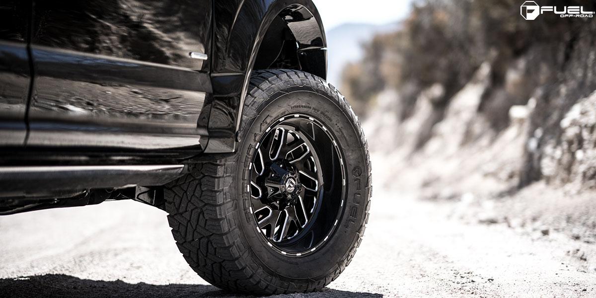 Ford F-150 Triton - D581 Gallery - Fuel Off-Road Wheels
