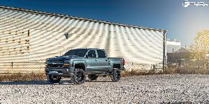Chevrolet Silverado with Fuel 1-Piece Wheels Vandal - D627