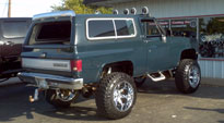 Chevrolet Blazer with Fuel 1-Piece Wheels Octane - D508