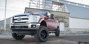 Ford F-250 Super Duty with Fuel 2-Piece Wheels Cleaver - D239