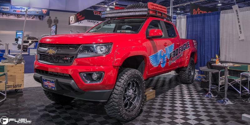 Chevrolet Colorado with Fuel 1-Piece Wheels Boost - D534
