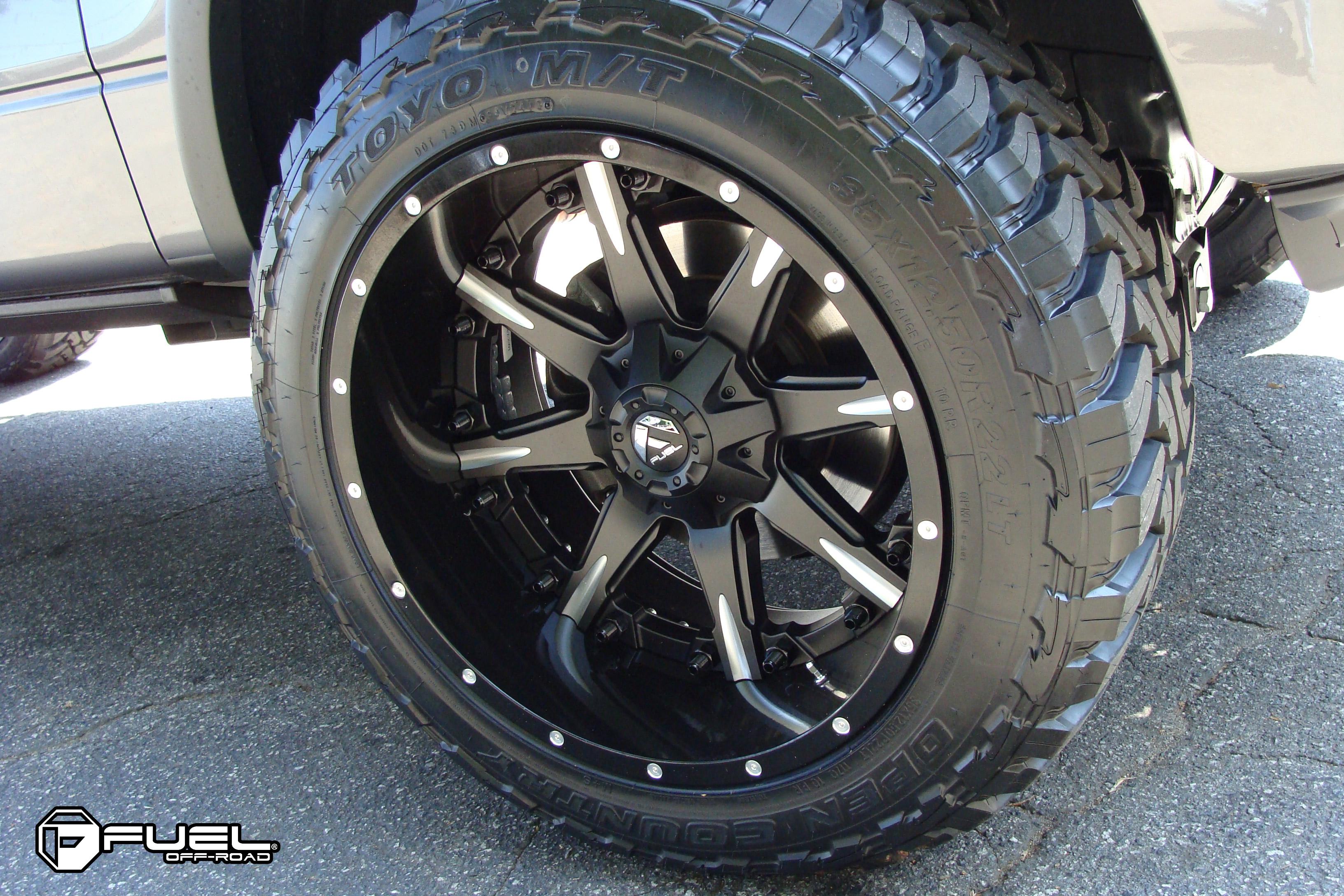 Ford F-150 Nutz - D251 Gallery - Fuel Off-Road Wheels