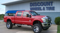 Ford F-250 Super Duty with Fuel Deep Lip Wheels