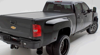 Chevrolet Sierra 3500 Dually with Fuel Dually Wheels Throttle Dually Rear - D213