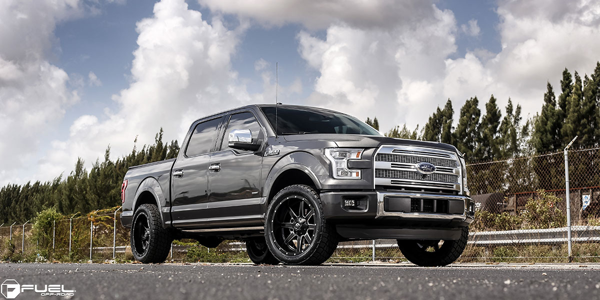 ford f150 with fuel 1piece wheels maverick d538