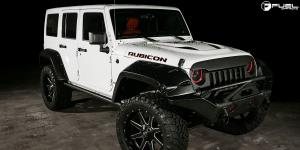 Jeep Wrangler with Fuel 2-Piece Wheels Maverick - D262