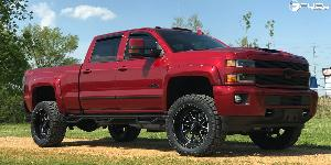 Chevrolet Silverado 2500 with Fuel Forged Wheels