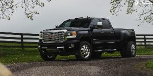 FF31 - Dually Front 20 x 8.25 Forged on GMC Sierra 3500 HD