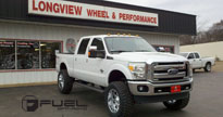 Ford F-250 Super Duty with Fuel Deep Lip Wheels Hostage - D530