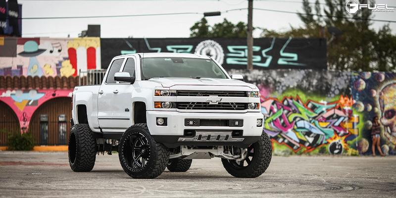 Chevrolet Silverado 2500 HD FUEL FORGED FF07