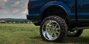 Ford F-150 with Fuel Forged Wheels FF09