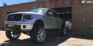 Ford F-150 with Fuel Forged Wheels FF41-6