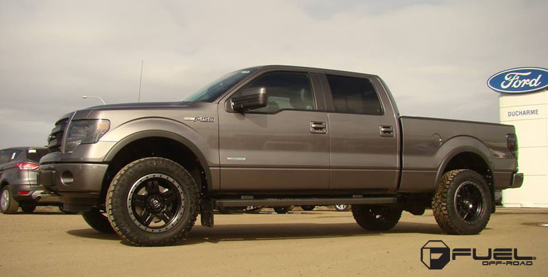 Ford F-150 with Fuel Forged Wheels Anza - D106 Forged