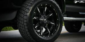 Ford F-250 Super Duty with Fuel 2-Piece Wheels Nutz - D251
