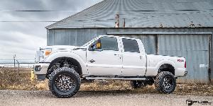 Ford F-250 Super Duty with Fuel 1-Piece Wheels Flow 8 - D587