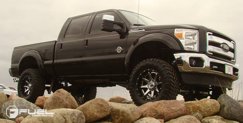 Ford F-350 with Fuel 2-Piece Wheels Rampage - D247