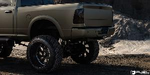 Dodge Ram 2500 with Fuel Forged Wheels FF11