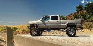 Chevrolet Silverado 2500 HD with Fuel Forged Wheels FF12