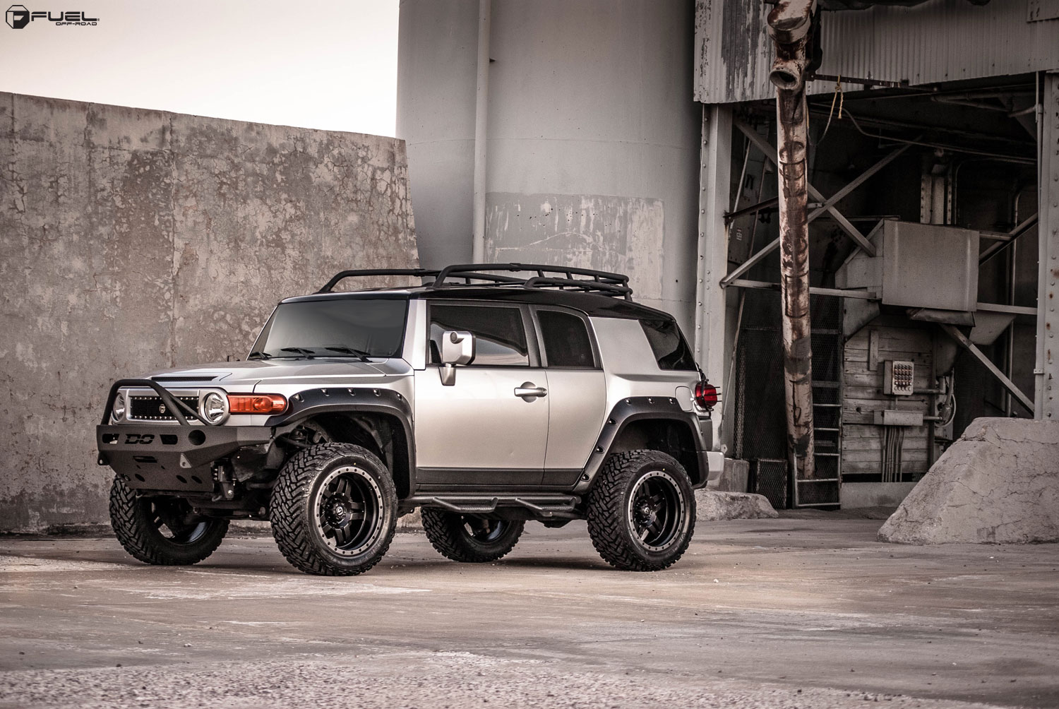 Toyota FJ Cruiser Anza  D557 Gallery  Fuel OffRoad Wheels