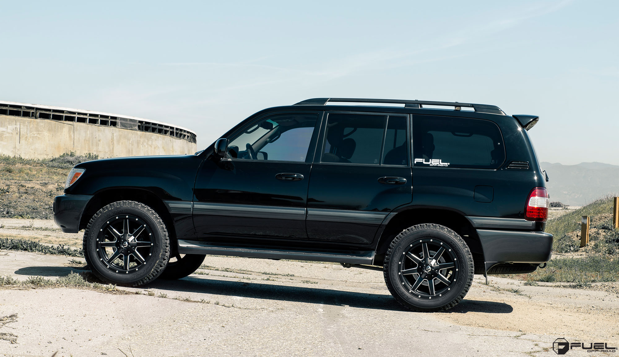 Toyota Land Cruiser Maverick - D538 Gallery - Fuel Off-Road Wheels