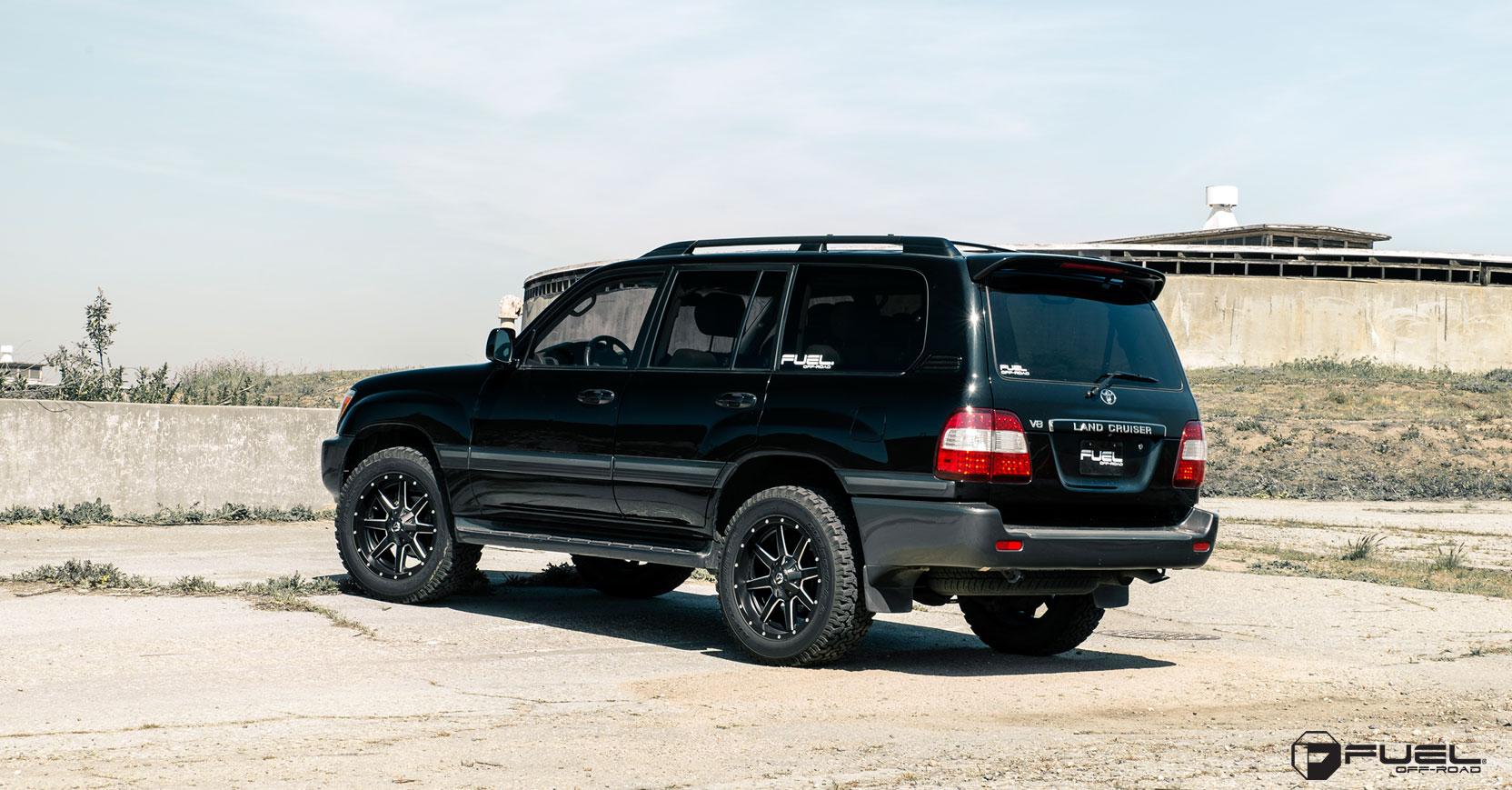 Toyota Land Cruiser Maverick - D538 Gallery - Fuel Off-Road Wheels
