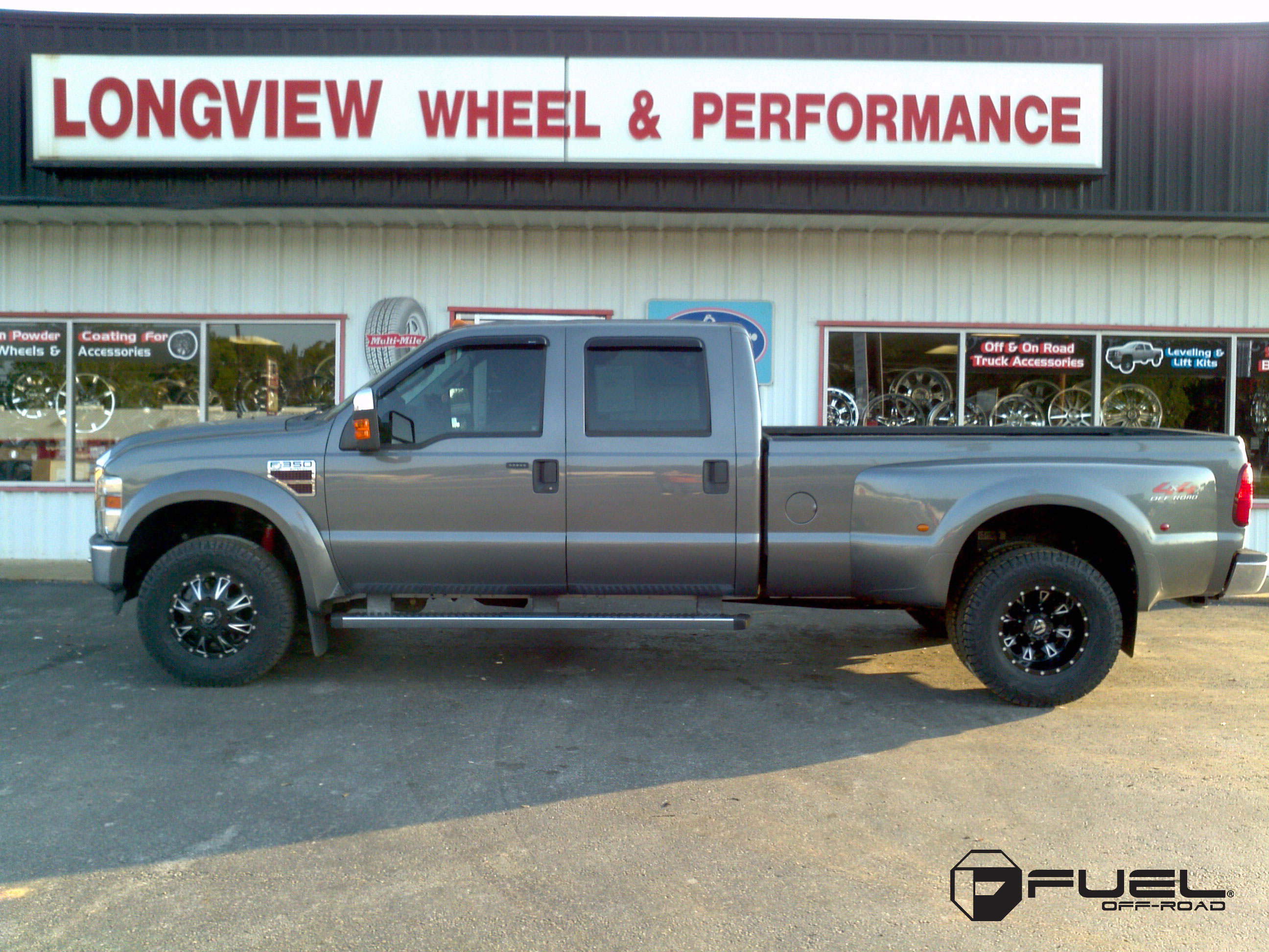 F350 Dually Wheels >> Ford F 350 Throttle Dually Rear D513 Gallery Fuel Off Road Wheels