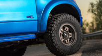 Ford F-150 Raptor with Fuel 1-Piece Wheels Anza - D558