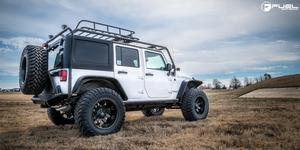Jeep Rubicon with Fuel 1-Piece Wheels Octane - D509