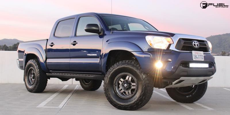 Toyota Tacoma with Fuel 1-Piece Wheels Anza - D558