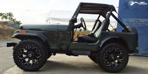 Jeep Wrangler with Fuel 1-Piece Wheels Assault - D546