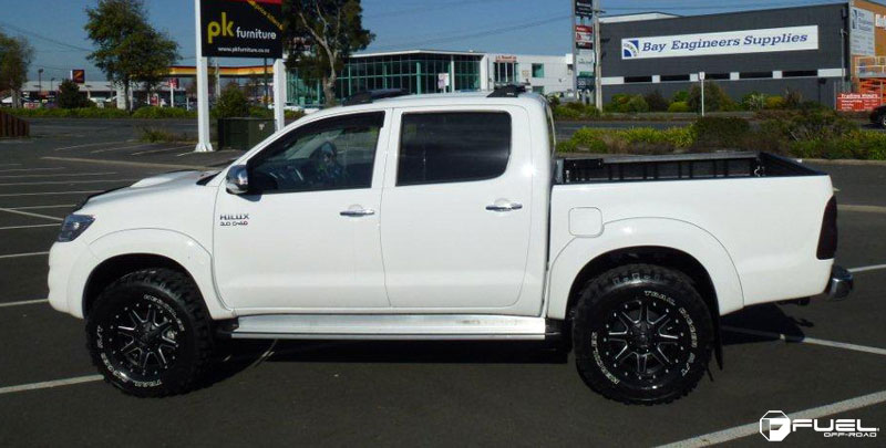 Toyota Hilux Maverick D538 Gallery Fuel Off Road Wheels