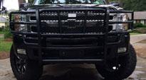 Chevrolet Silverado 2500 HD with Fuel Deep Lip Wheels