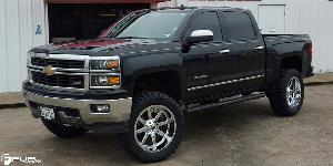Maverick - D536 on Chevrolet Silverado 1500