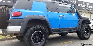 Toyota FJ Cruiser with Fuel 1-Piece Wheels Anza - D557