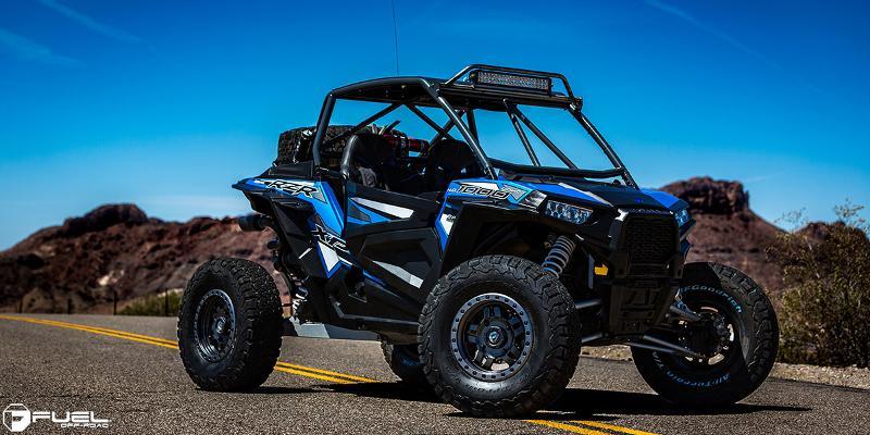 ATV - Polaris RZR with Fuel UTV Wheels Anza - D557 - UTV