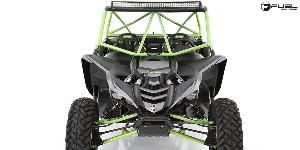 ATV - Yamaha YXZ 1000 with Fuel UTV Wheels Anza - D557 - UTV