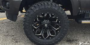 Ford F-250 Super Duty with Fuel 1-Piece Wheels Assault - D546