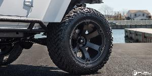 Jeep Wrangler with Fuel 1-Piece Wheels Beast - D564