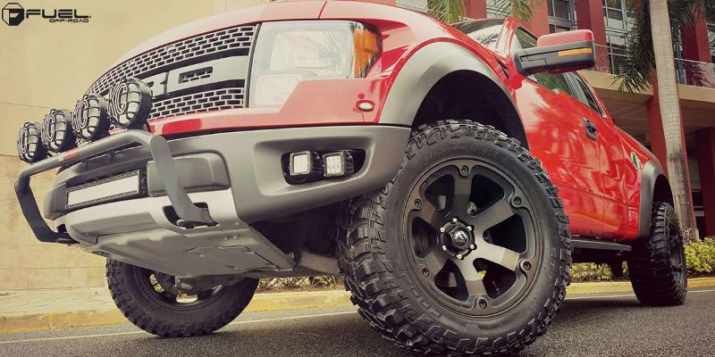 Ford F-150 Raptor FUEL DEEP LIP Beast - D564