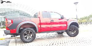 Ford F-150 Raptor with Fuel 1-Piece Wheels Beast - D564