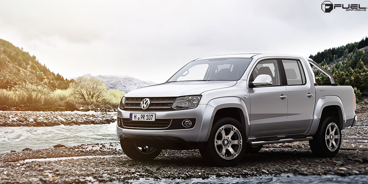 Volkswagen Amarok Beast - D564 Gallery - Fuel Off-Road Wheels