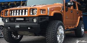 Hummer H2 with Fuel Forged Wheels FF08