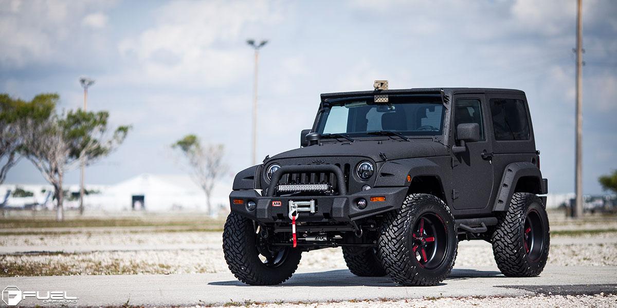 jeep wrangler ff20 8 lug gallery fuel off road wheels. Black Bedroom Furniture Sets. Home Design Ideas