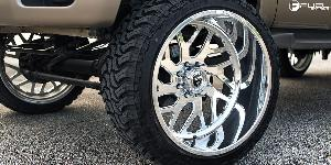 Ford F-250 Super Duty with Fuel Forged Wheels FF29