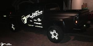 Toyota Tundra with Fuel 2-Piece Wheels Full Blown - D254
