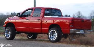 Dodge Ram 1500 with Fuel Deep Lip Wheels Hostage - D530